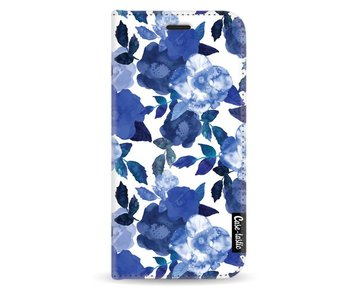 Royal Flowers - Wallet Case White Samsung Galaxy A3 (2017)