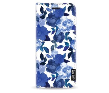 Royal Flowers - Wallet Case White Samsung Galaxy S8
