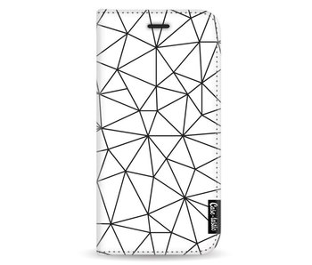 So Many Lines! Black - Wallet Case White Samsung Galaxy A5 (2017)