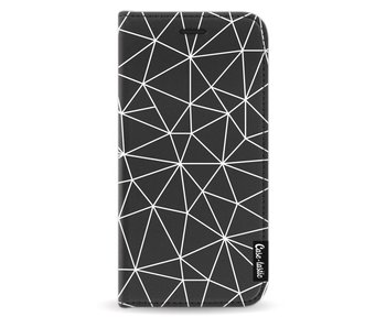 So Many Lines! White - Wallet Case Black Samsung Galaxy A5 (2017)