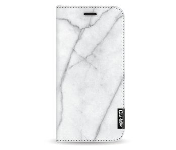 White Marble - Wallet Case White Samsung Galaxy A3 (2017)