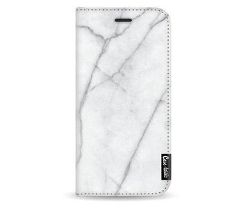 White Marble - Wallet Case White Samsung Galaxy A5 (2017)