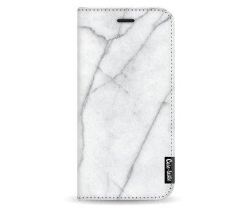 White Marble - Wallet Case White Samsung Galaxy A5 (2017)