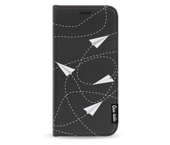 Paperplanes - Wallet Case Black Samsung Galaxy A3 (2017)