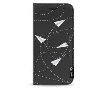 Paperplanes - Wallet Case Black Samsung Galaxy A5 (2017)