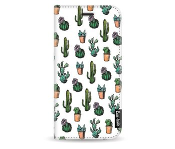 Cactus Dream - Wallet Case White Samsung Galaxy J5 (2017)