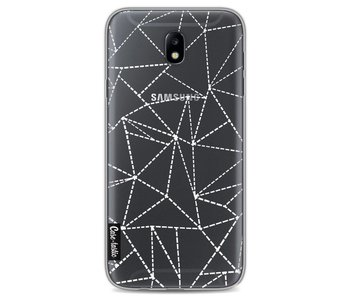 Abstract Dotted Lines Transparent - Samsung Galaxy J7 (2017)