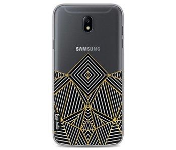 Abstraction Half Transparent - Samsung Galaxy J7 (2017)
