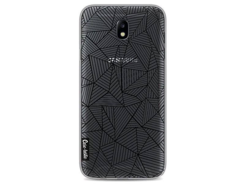 Casetastic Softcover Samsung Galaxy J7 (2017) - Abstraction Lines Transparent