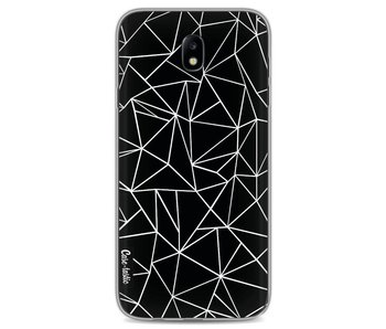 Abstraction Outline Black - Samsung Galaxy J7 (2017)