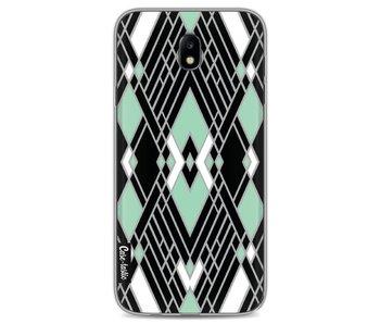 Art Deco Mint - Samsung Galaxy J7 (2017)