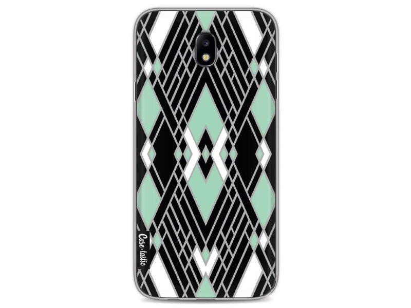 Casetastic Softcover Samsung Galaxy J7 (2017) - Art Deco Mint
