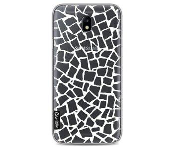 British Mosaic White Transparent - Samsung Galaxy J7 (2017)