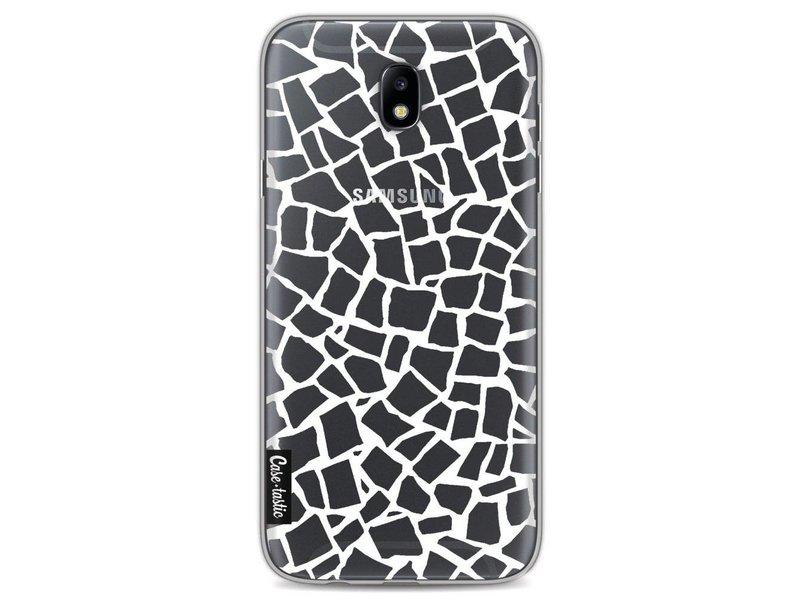 Casetastic Softcover Samsung Galaxy J7 (2017) - British Mosaic White Transparent
