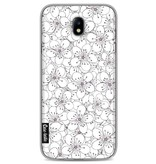 Casetastic Softcover Samsung Galaxy J7 (2017) - Cherry Blossom Pink