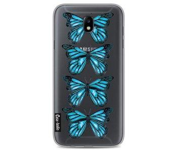 Blue Butterfly - Samsung Galaxy J7 (2017)