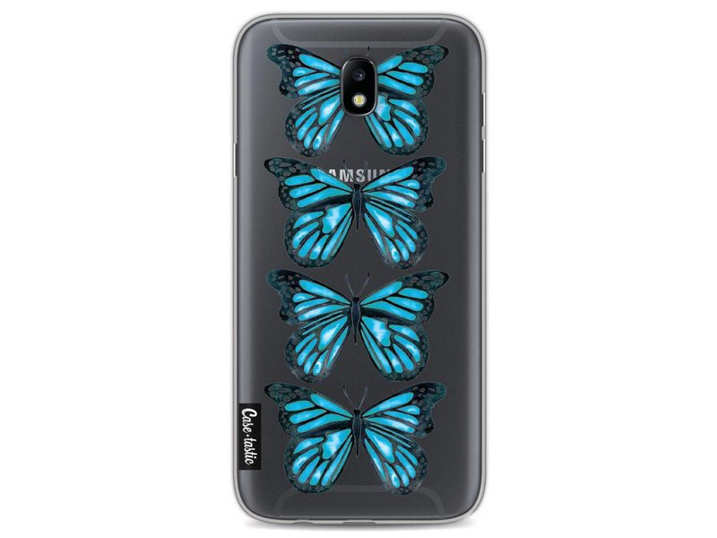 Casetastic Softcover Samsung Galaxy J7 (2017) - Blue Butterfly