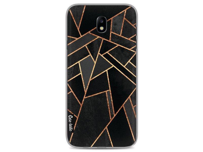 Casetastic Softcover Samsung Galaxy J7 (2017) - Black Night