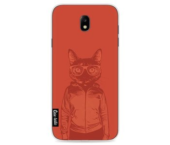 Cool Cat 2 Transparent - Samsung Galaxy J7 (2017)