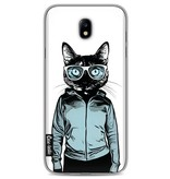 Casetastic Softcover Samsung Galaxy J7 (2017) - Cool Cat 2
