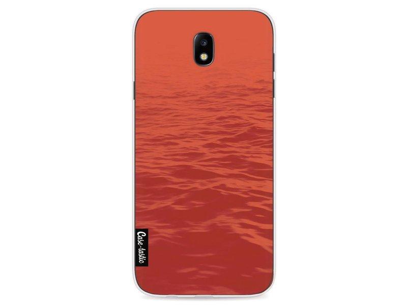Casetastic Softcover Samsung Galaxy J7 (2017) - Blue Sea