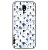 Casetastic Softcover Samsung Galaxy J7 (2017) - Blue Cacti