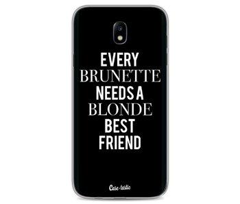 Every Brunette Needs A Blonde Black - Samsung Galaxy J7 (2017)