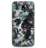 Casetastic Softcover Samsung Galaxy J7 (2017) - Army Skull
