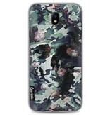 Casetastic Softcover Samsung Galaxy J7 (2017) - Army Skull