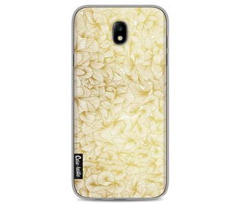 Abstract Pattern Gold - Samsung Galaxy J7 (2017)