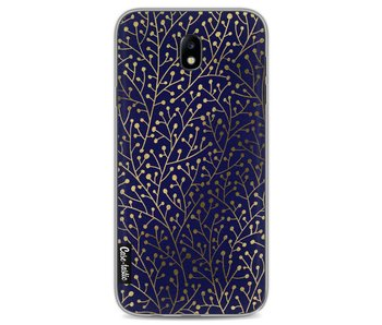 Berry Branches Navy Gold - Samsung Galaxy J7 (2017)