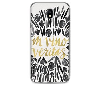 Black Vino Veritas Artprint - Samsung Galaxy J7 (2017)