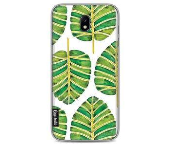 Green Alocasia Pattern - Samsung Galaxy J7 (2017)
