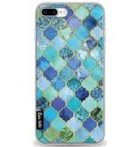 Casetastic Softcover Apple iPhone 8 Plus - Aqua Moroccan Tiles