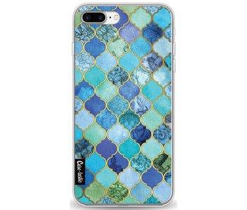 Aqua Moroccan Tiles - Apple iPhone 8 Plus