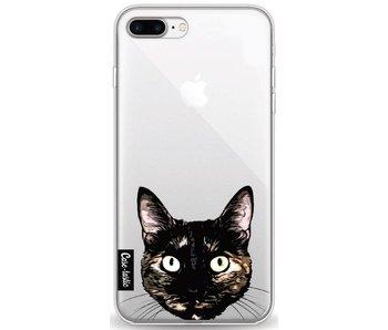 Peeking Kitty - Apple iPhone 8 Plus