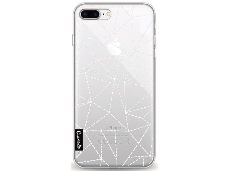 Casetastic Softcover Apple iPhone 8 Plus - Abstract Dotted Lines