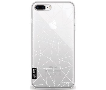 Abstract Dotted Lines Transparent - Apple iPhone 8 Plus