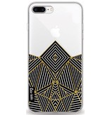 Casetastic Softcover Apple iPhone 8 Plus - Abstraction Half Transparent