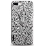 Casetastic Softcover Apple iPhone 8 Plus - Abstraction Lines Transparent