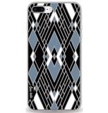 Casetastic Softcover Apple iPhone 8 Plus - Art Deco Blue