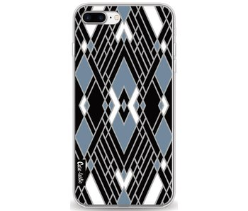 Art Deco Blue - Apple iPhone 8 Plus