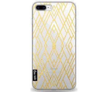 Art Deco Gold Transparent - Apple iPhone 8 Plus