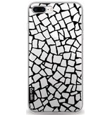 Casetastic Softcover Apple iPhone 8 Plus - British Mosaic Black Transparent