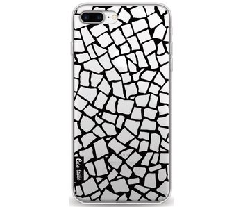 British Mosaic Black Transparent - Apple iPhone 8 Plus