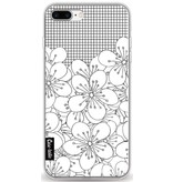 Casetastic Softcover Apple iPhone 8 Plus - Cherry Blossom Grid