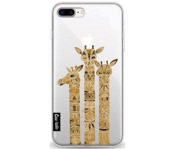 Sepia Giraffes - Apple iPhone 8 Plus