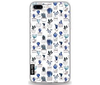 Blue Cacti - Apple iPhone 8 Plus