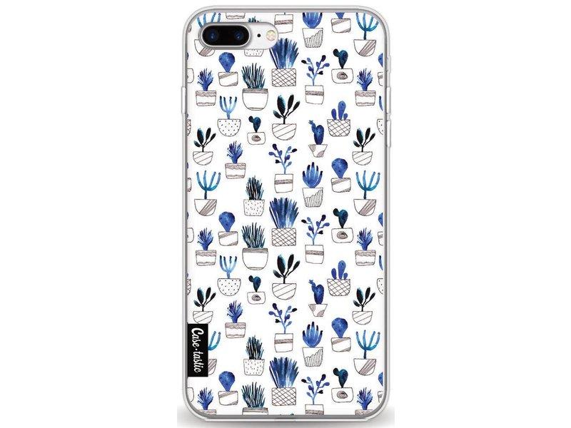 Casetastic Softcover Apple iPhone 8 Plus - Blue Cacti