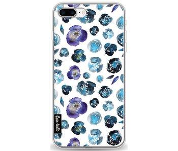 Flowers Blue - Apple iPhone 8 Plus